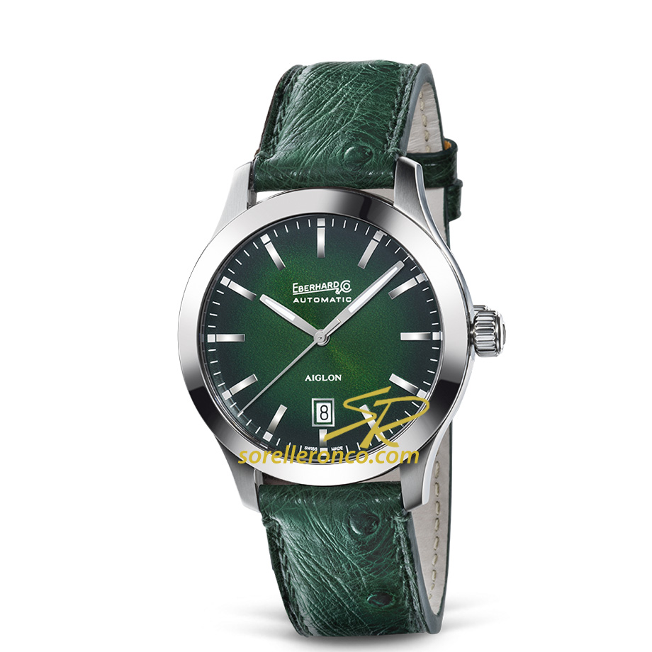 Aiglon Automatico Grande Taille 41mm Verde