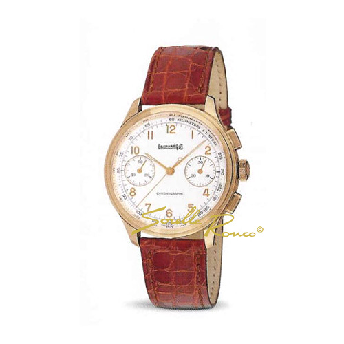 Old Flyer Chrono Oro Rosso 18kt Carica Manuale