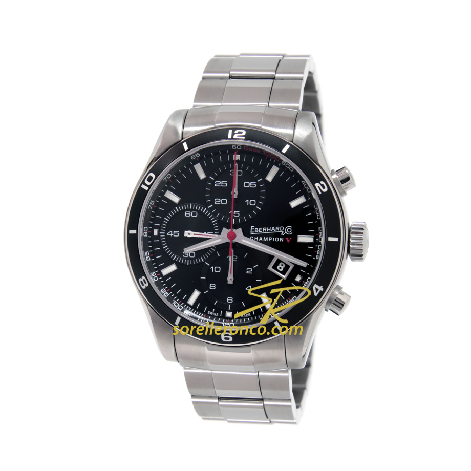 Champion V Chrono Nero 43mm