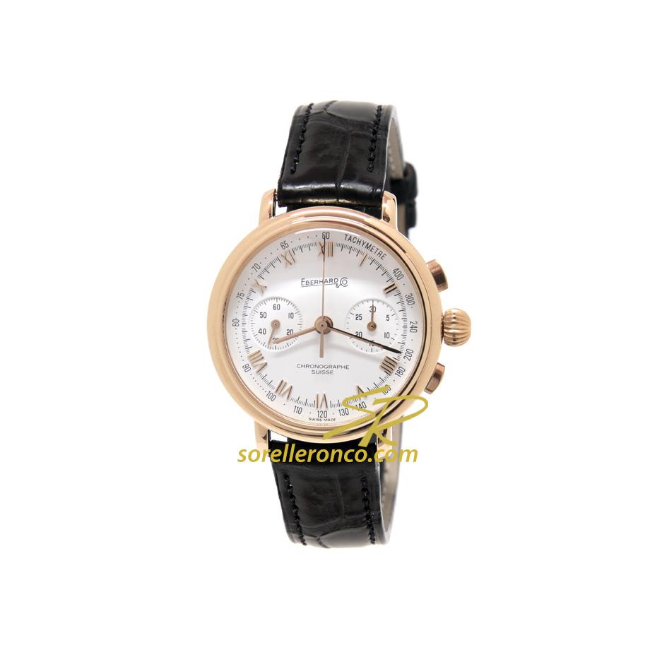 Orologio EBERHARD Replica Crono Oro Giallo 18kt Carica Manuale