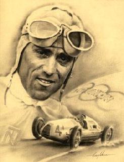 Tazio Nuvolari con la coppa Vanderbilt - tazio_spalla02