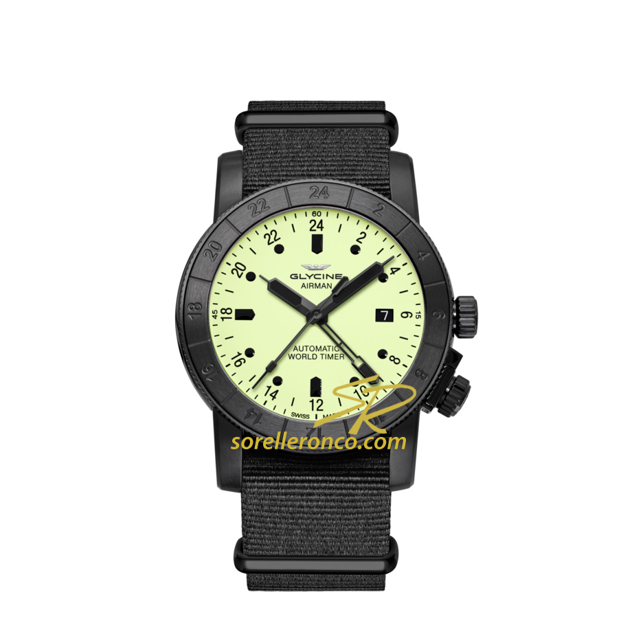 Airman 42 GMT Luminous