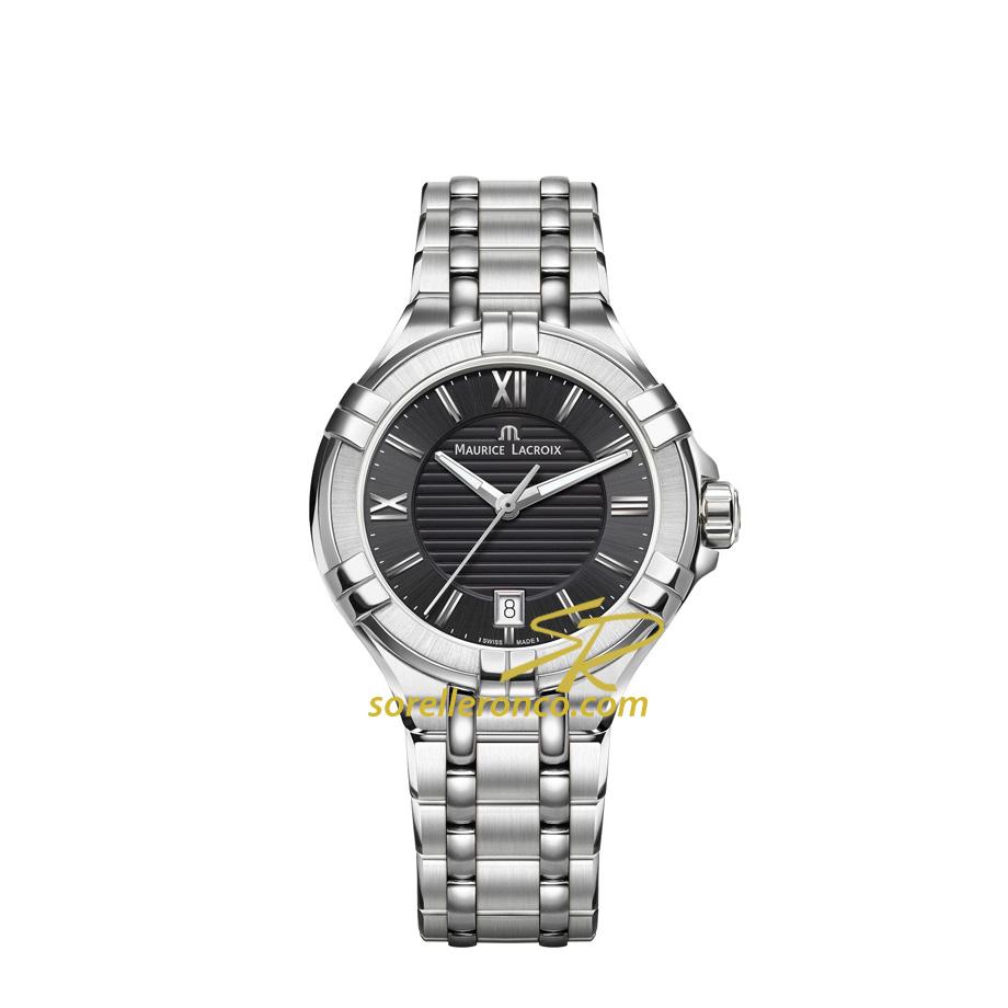 Orologio MAURICE LACROIX Aikon Quarzo 35mm Acciaio Offerta Speciale Web