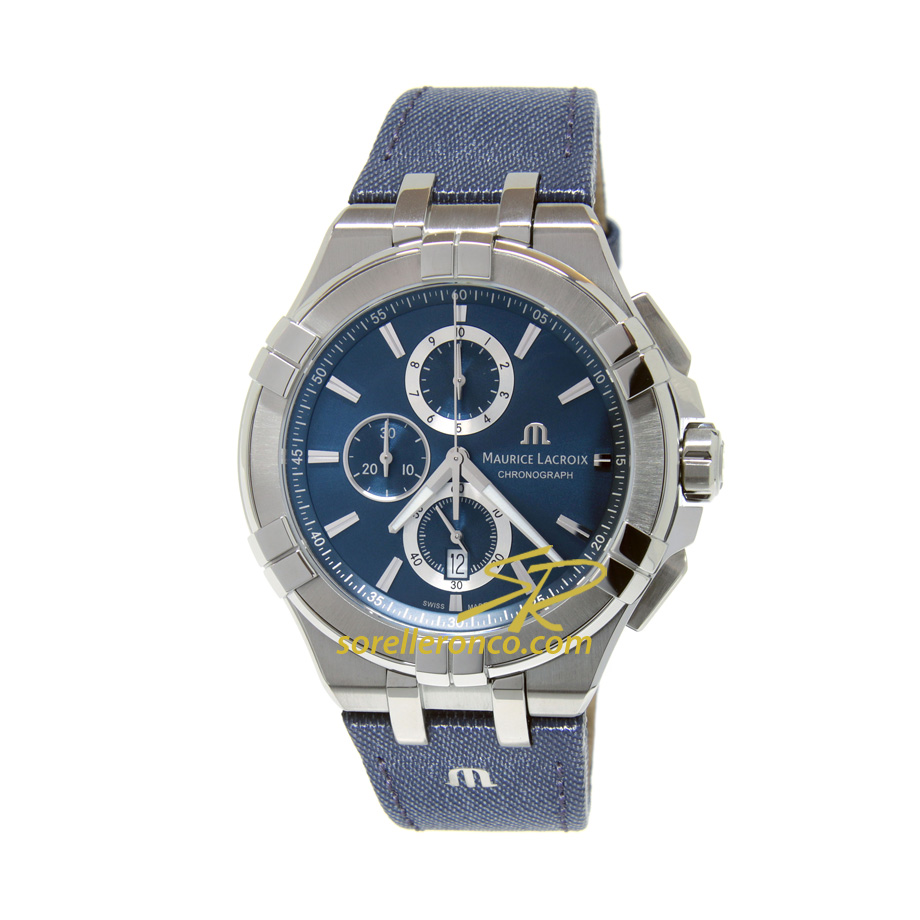 Aikon Blue Jeans Chrono Quarzo E-boutique 44mm