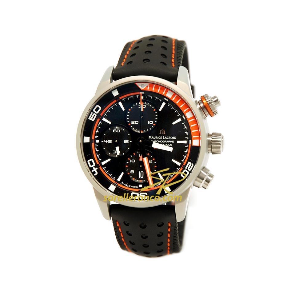 Pontos S Chrono Extreme Orange 43mm Automatico