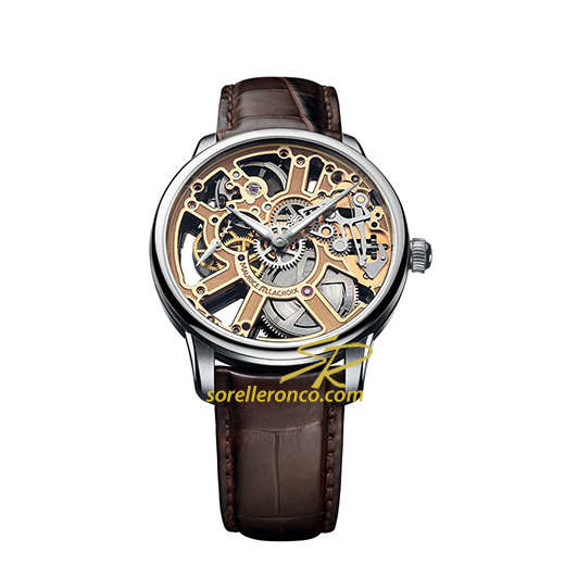 Masterpiece Squelette Gold 43mm