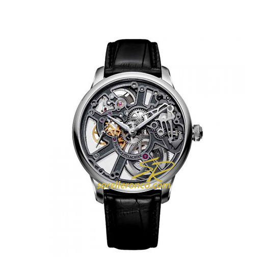Masterpiece Squelette New Design Nero 43mm
