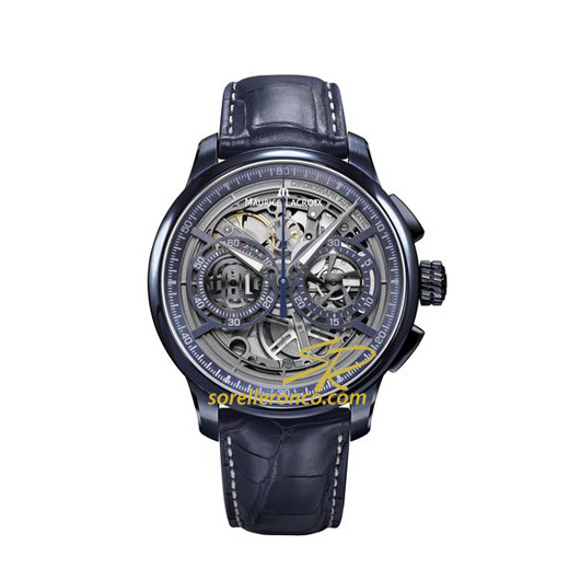 Masterpiece Skeleton Blue Limited Edition 45mm