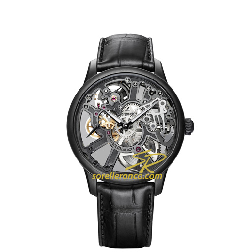 Masterpiece Squelette Limited Edition Nero 43mm