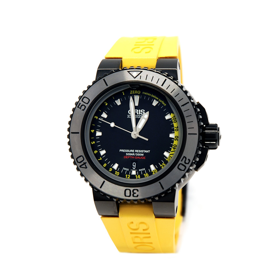 Aquis Depth Gauge Black PVD