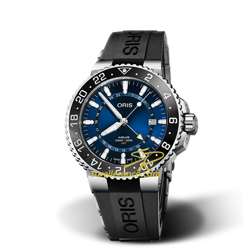 Aquis GMT Date 43.5mm Gomma