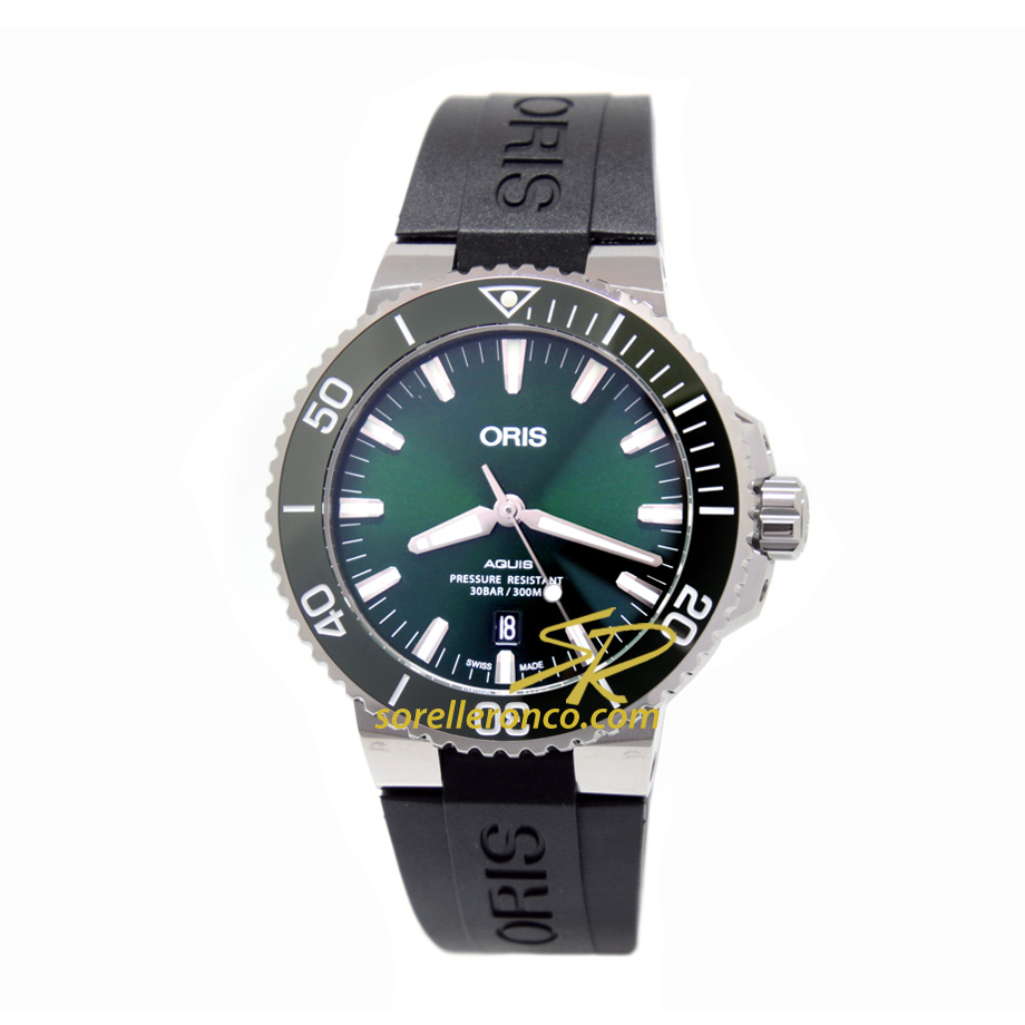 Aquis Date Gomma 43,50mm