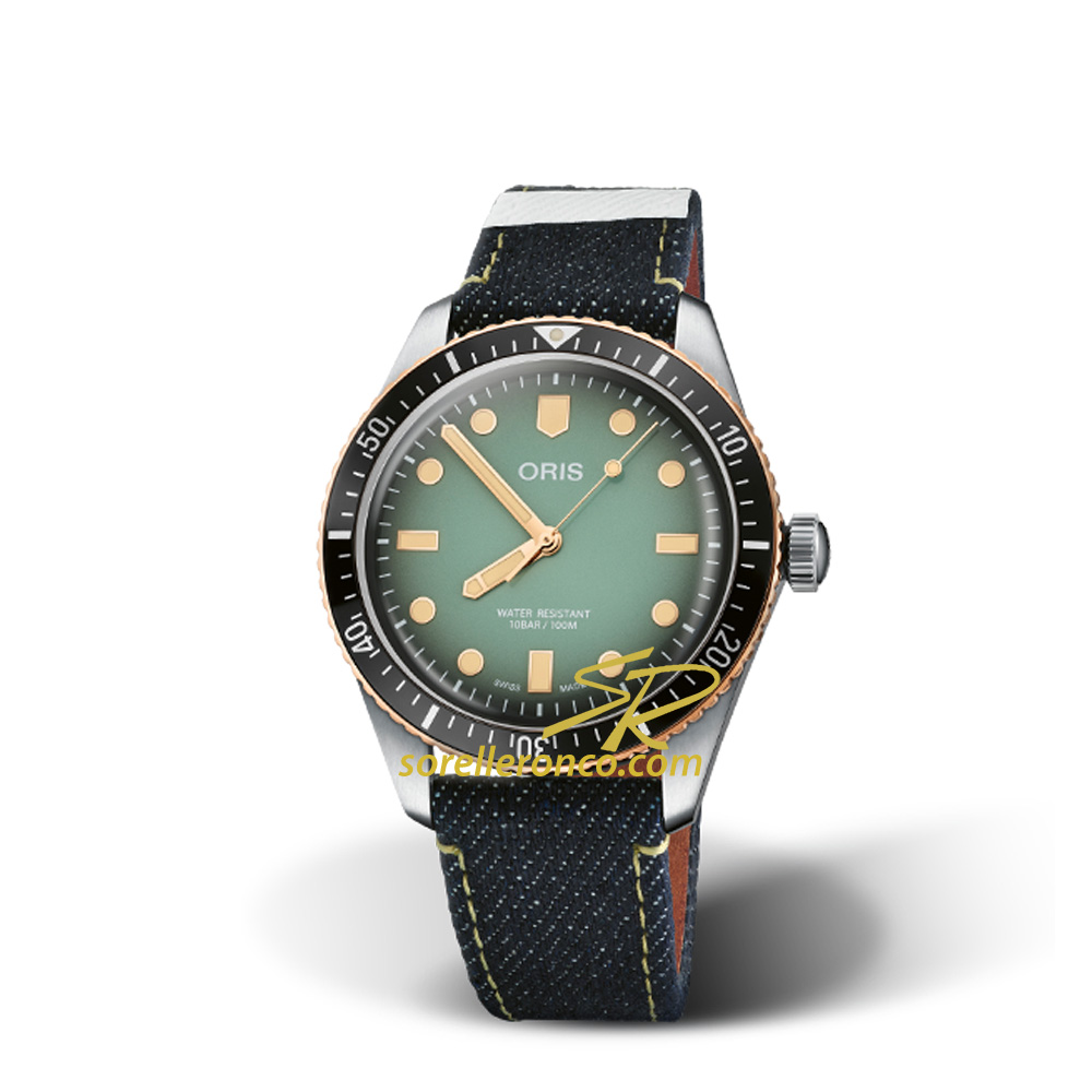 Divers Sixty-Five Momotaro 40mm Verde