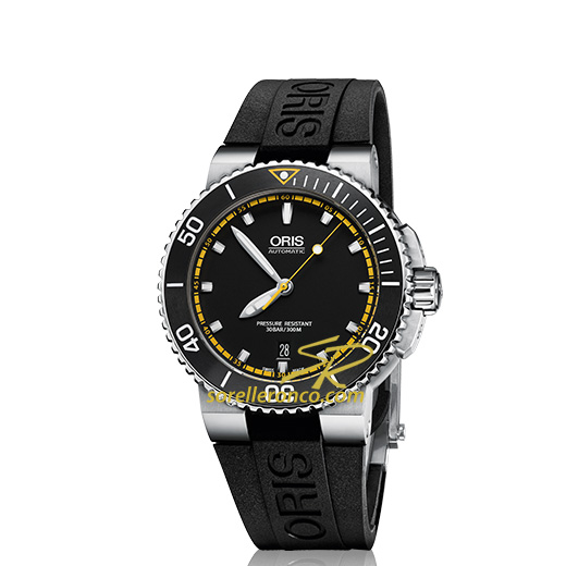 73376534154RS Oris Aquis Divers Date 43mm Mens Watch ...