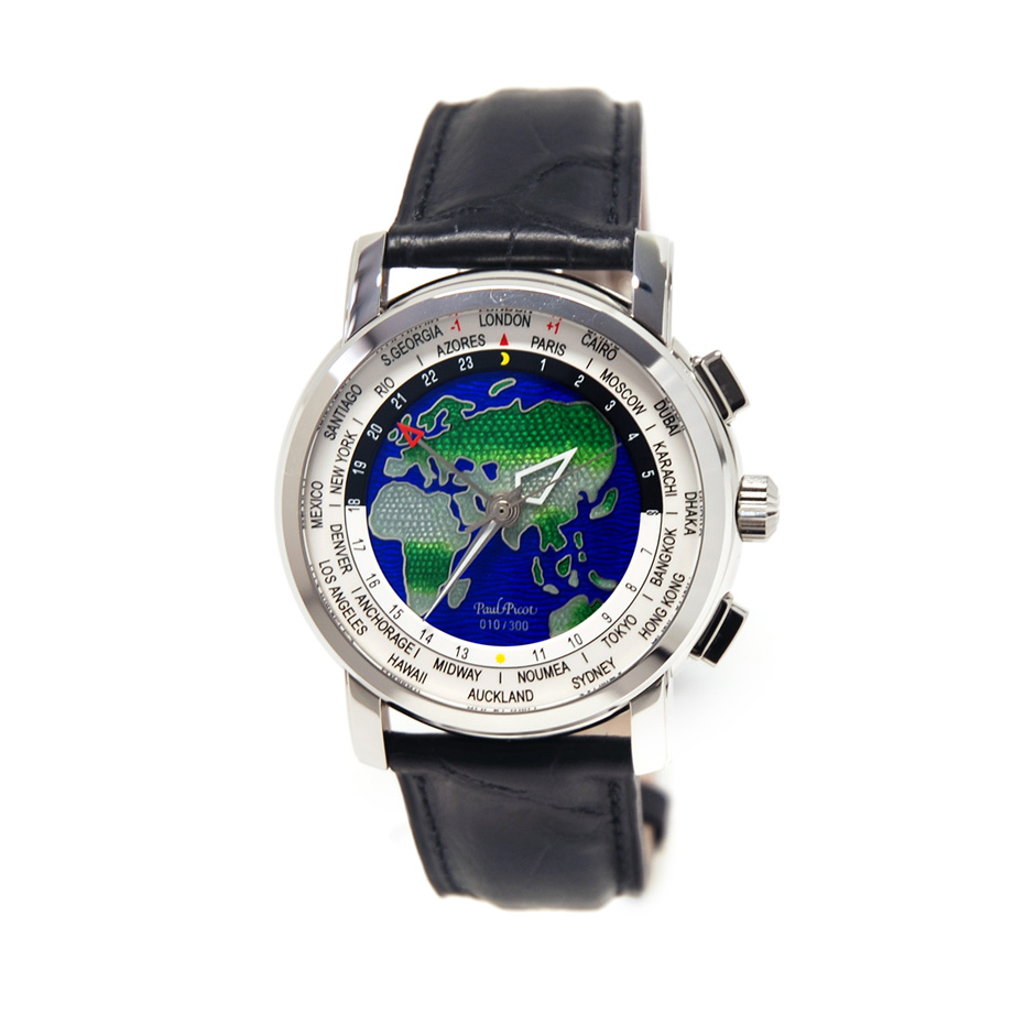 Firshire Megarotor GMT - ORE DEL MONDO Smaltato a Mano