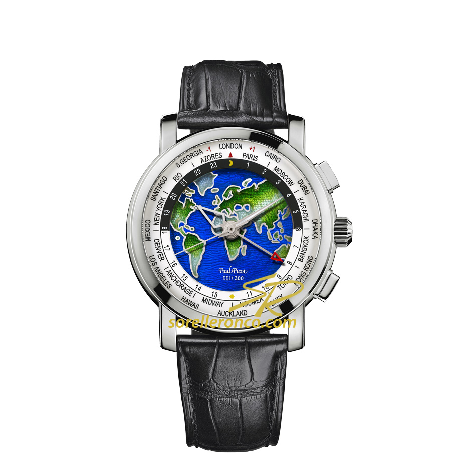 Firshire Megarotor GMT Gran Feu Champleve' World Time