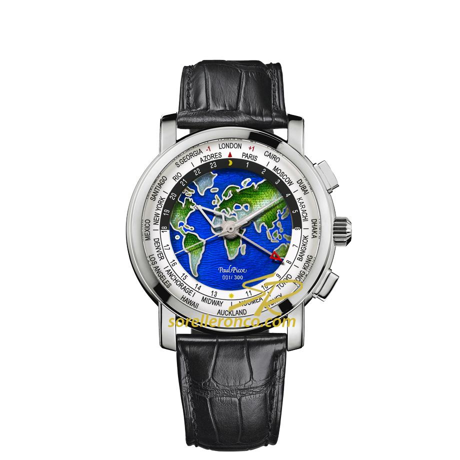 Firshire Megarotor GMT Gran Feu Champleve' World Time