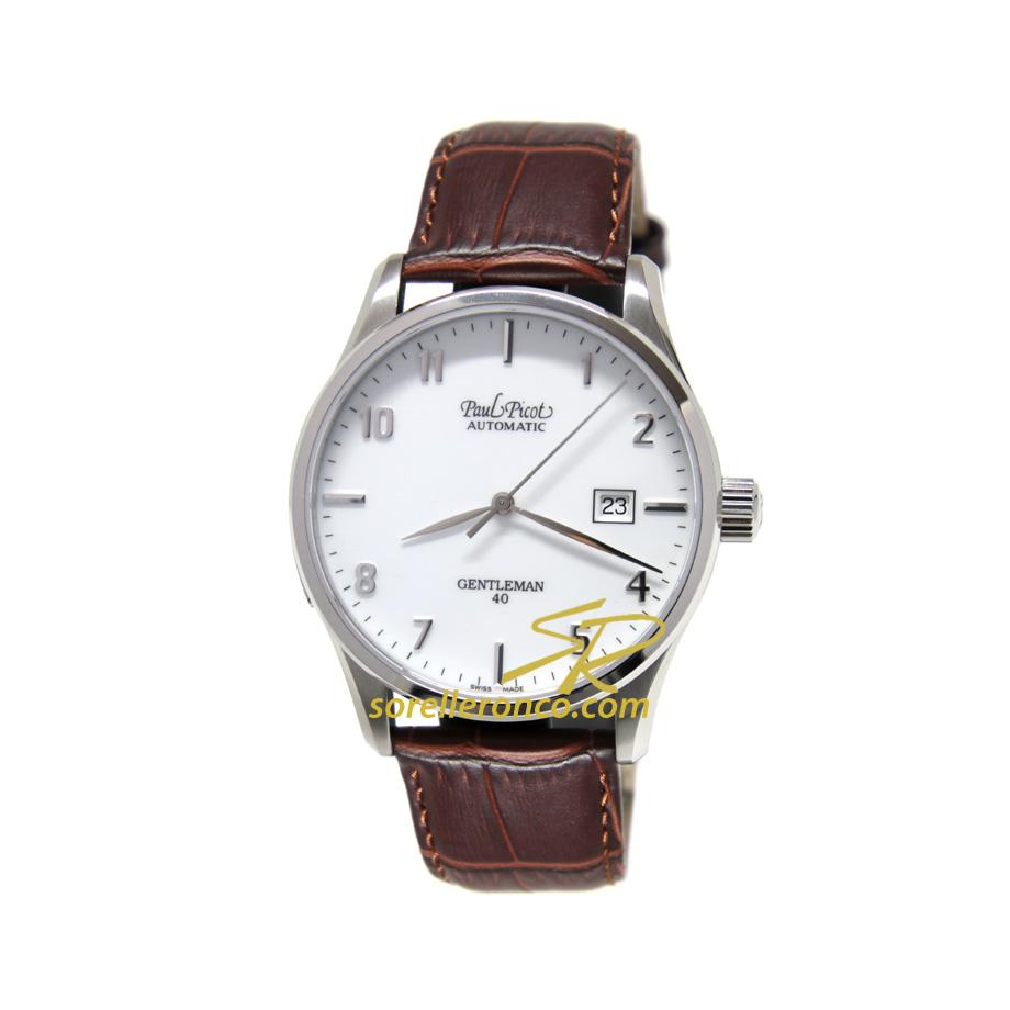 Gentleman Automatico Classic 40mm Bianco