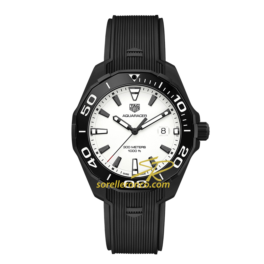Aquaracer Quarzo Black Edition 43mm