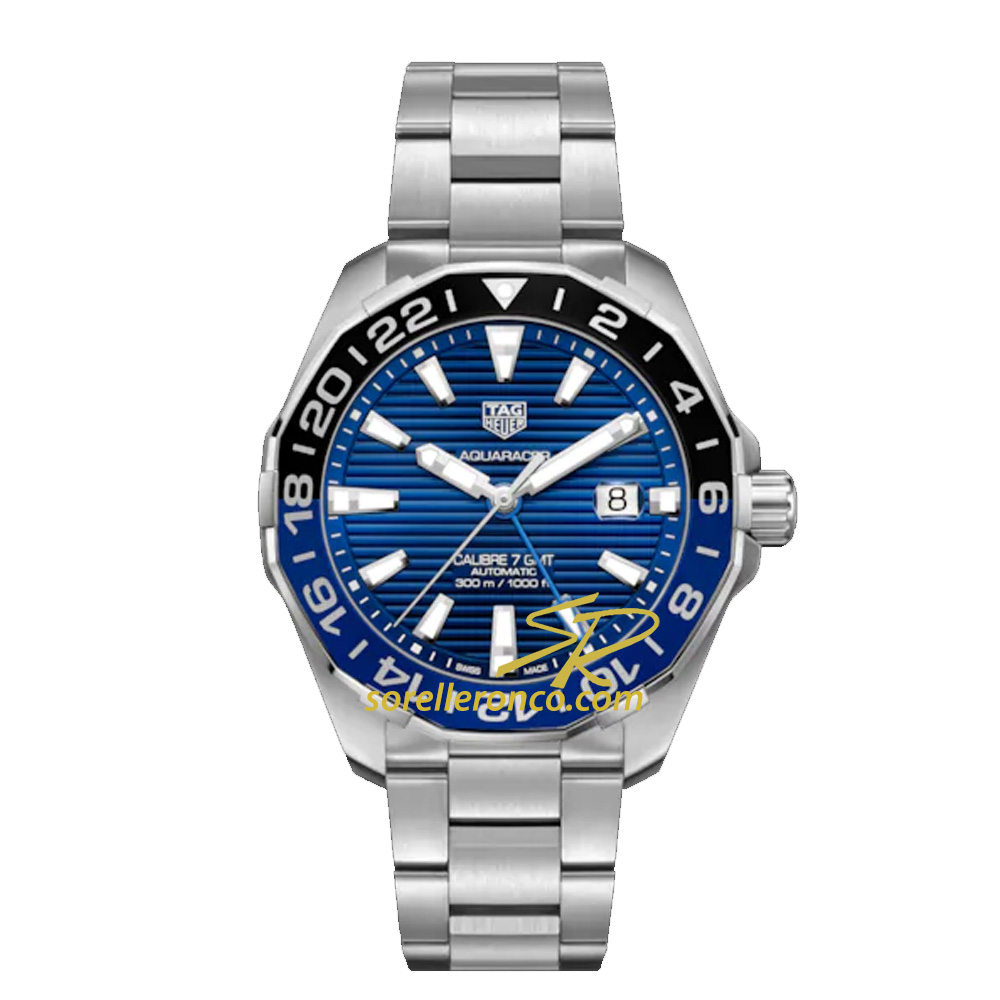 Aquaracer GMT Batman Calibro 7 Blu