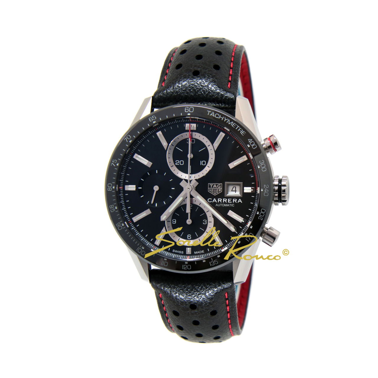 Carrera Chrono Calibro 16 Nero 41mm