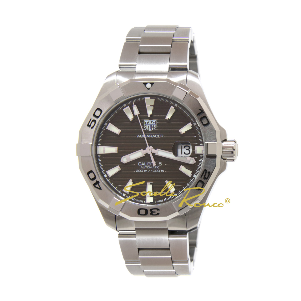 Aquaracer SUB Automatico 300m Brown