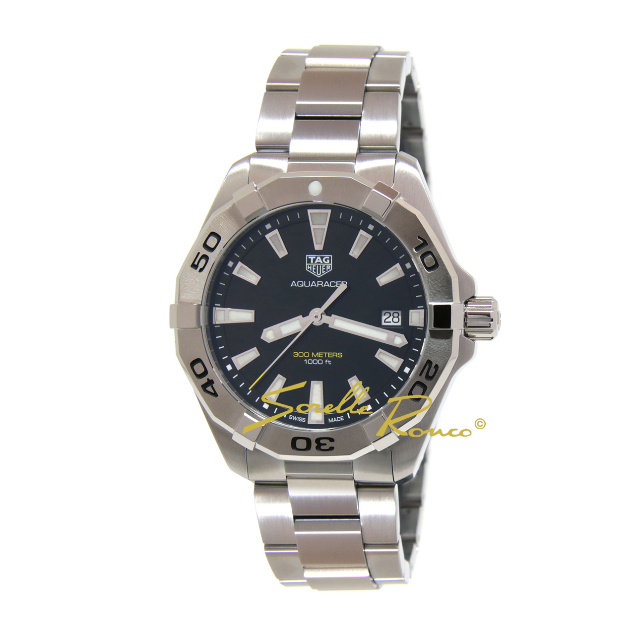 Aquaracer Quarzo 300m Nero 41mm