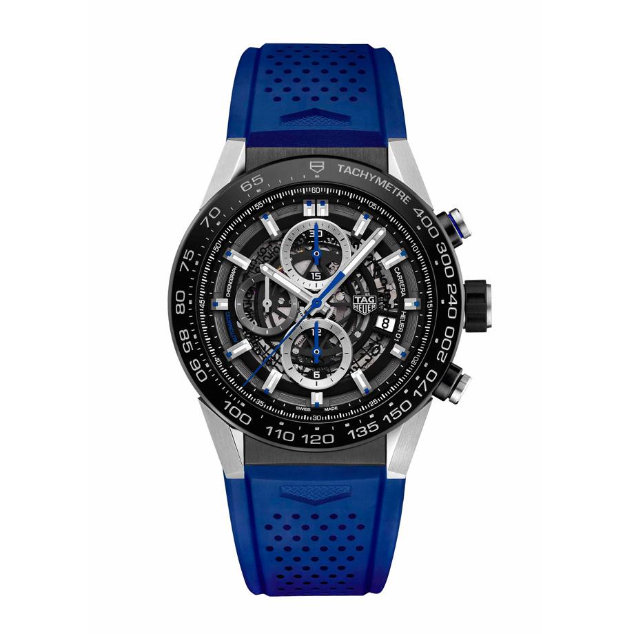 Carrera Calibre Heuer 01 Blue Hands