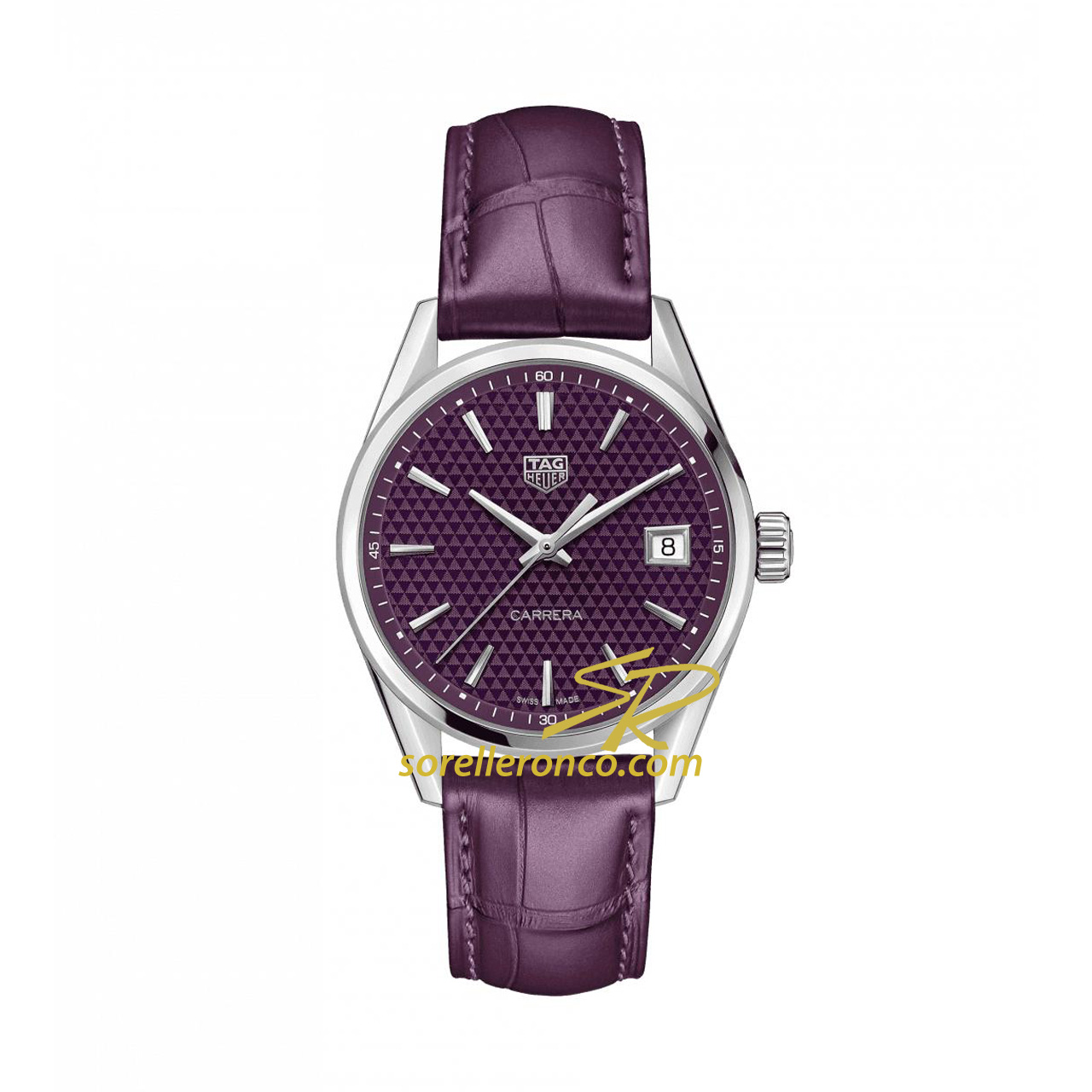 Carrera DONNA Quarzo Viola 36mm Lady