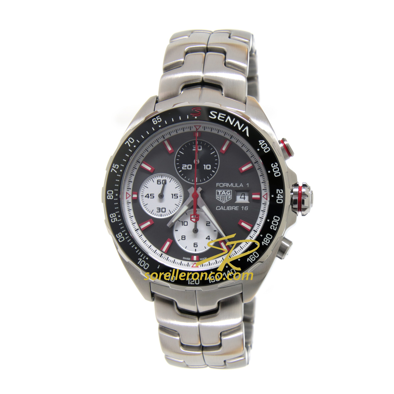 Senna Formula 1 Chrono Calibre 16 Limited Edition