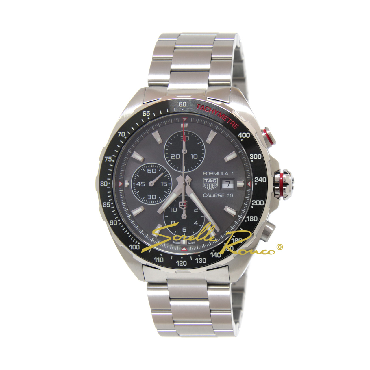 Formula 1 44mm Chrono Calibre 16 Antracite