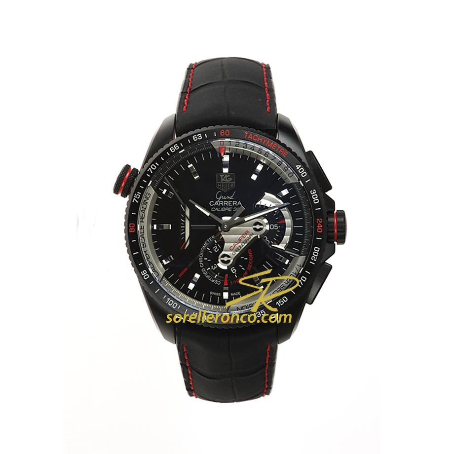 Grand Carrera Calibro 36RS Rosso Titanio 43mm