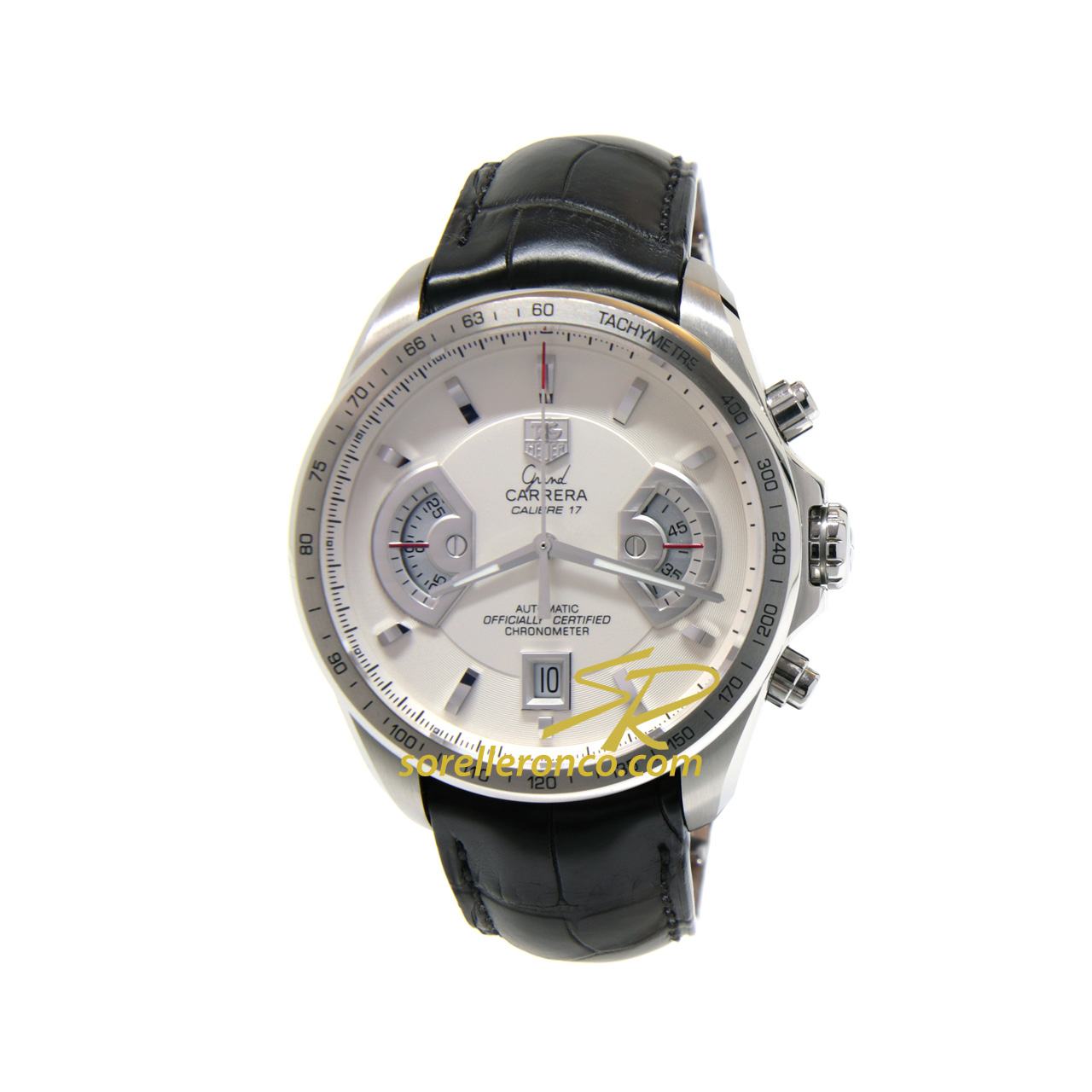 Grand Carrera 43mm 17RS Silver 43mm