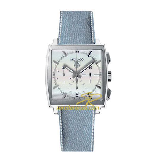 Orologio TAG HEUER Monaco Denim Calibro 17 Lady