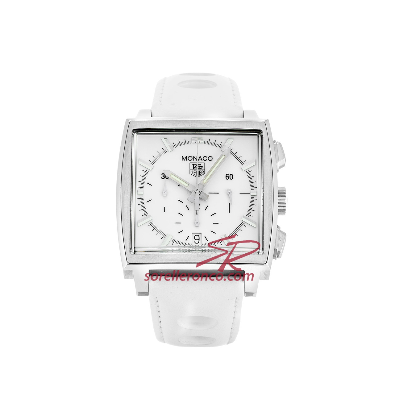 Monaco Absolute White 38mm