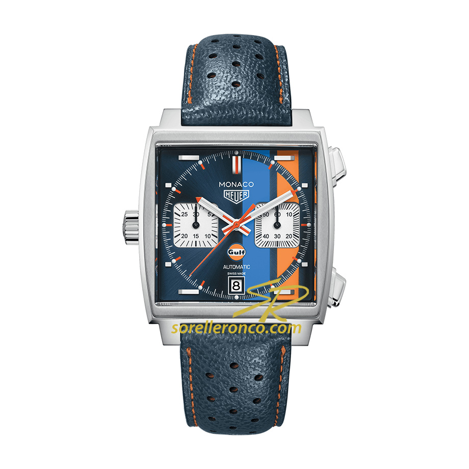 Monaco Gulf 2018 50th Anniversary 39mm