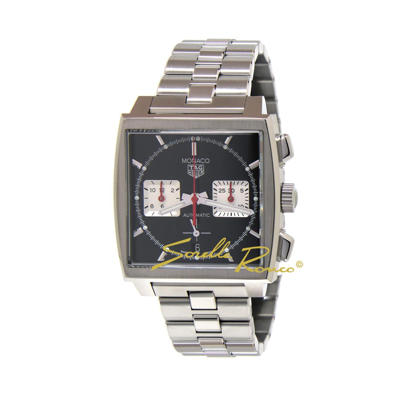 Tag Heuer Monaco Chronograph 39mm Nero Automatico
