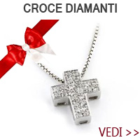collana pendente croce