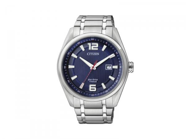 AW1240-57M - Citizen SuperTitanium 42mm Blu Eco Drive
