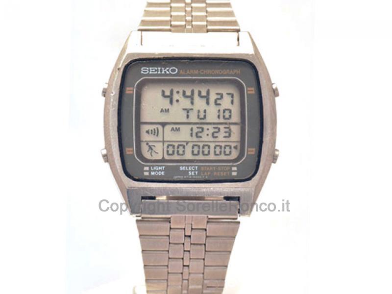 sito affidabile nuovo arrivo Nuovi Prodotti Orologio SEIKO Vintage LCD Running A714-5060