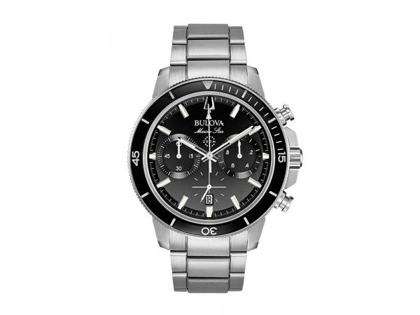 96B272 - Bulova Marine Star Nero Chrono 45mm