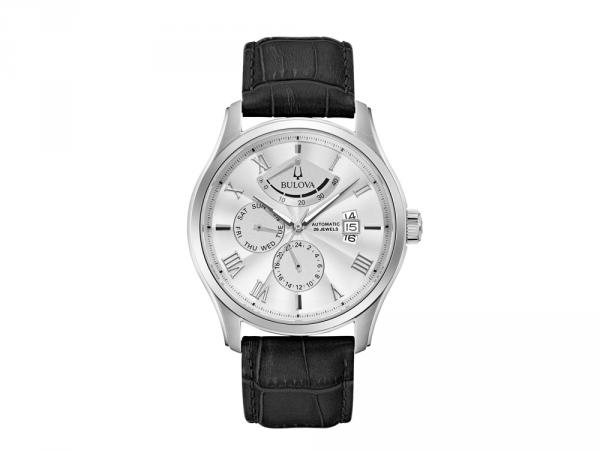96C141 - Bulova Wilton Power Reserve Bianco 43mm