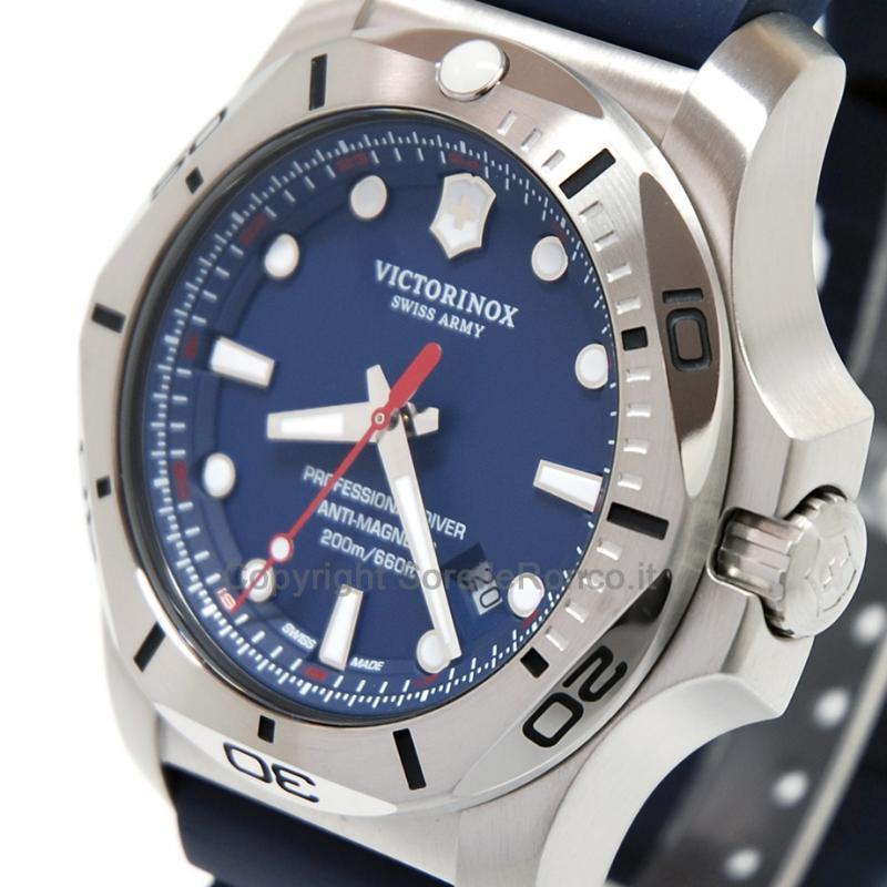 caratteristiche eccezionali ultima collezione comprare nuovo Victorinox I.N.O.X. Blu Gomma Diver 45mm 241734