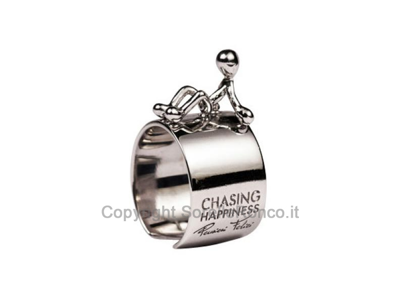 Anello Chasing Happiness M