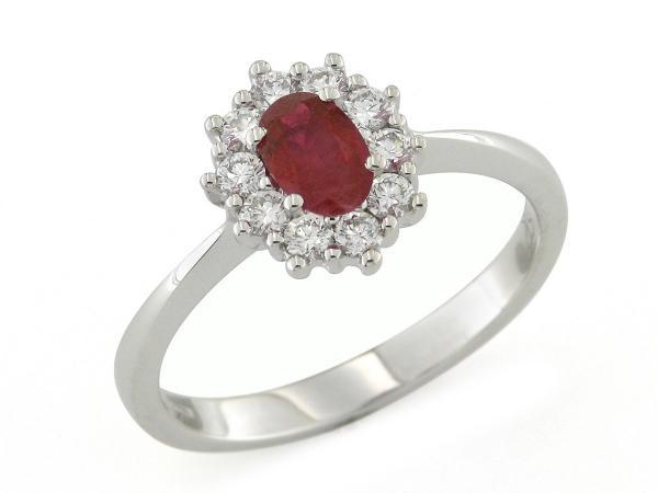Rubino anello