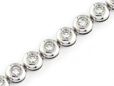 Bracciale a Tennis con Diamanti 1.64 ct
