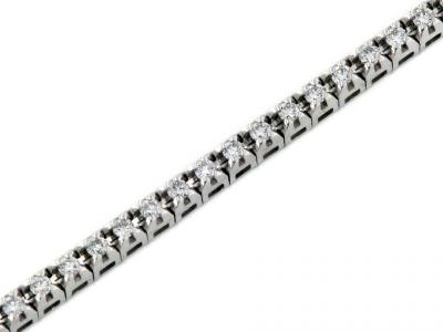 Bracciale Tennis con Diamanti da 0.40 ct