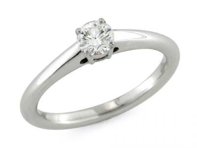 Solitario con Diamante da 0.44 Ct