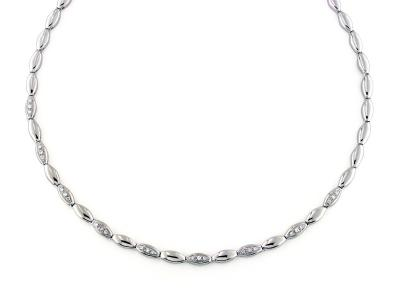 Collana Oro e Diamanti 0.27 Ct