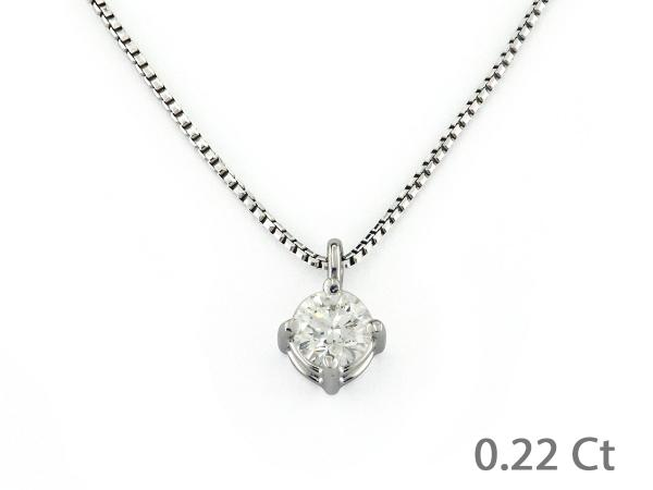 CF02161 - Puntoluce in Oro con Diamante 0.22 Ct